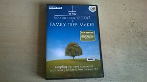 WHO DO YOU THINK YOU ARE : FAMILY TREE MAKER - PC CD-ROM SOFTWARE - FAST POST