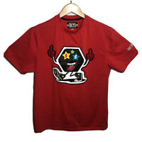 BKYS Money Makers Graphic T-Shirt Tongue Crazy Eyes Mens M Medium Red
