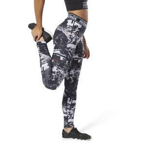 Brand New $55 Reebok Women's WOR MEET YOU THERE DOT ALT LEGGINGS DP6684