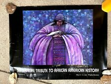SIGNED POSTER: 5th ANNUAL TRIBUTE TO AFRICAN AMERICAN HISTORY 1995 Charles Bibbs
