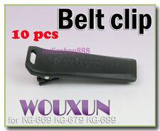 WOUXUN ORIGINAL Belt Clip KG-669 KG689 KG-UVD1P BC10 x 10 pcs