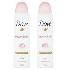 2 Pack Dove Beauty Finish for Women Antiperspirant Deodorant Spray, 150ml each