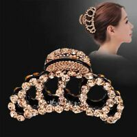 Crystal Large Hair Claw Women Hairpin Rhinestone Luxury Headwear Hair Clip·