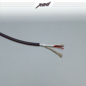 CARDAS LITZ 21.5AWG 2 CORE TWISTED+SHIELD CABLE per 300mm -  INTERCONNECTS