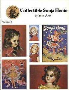 Collector's Guide Norway Skater Doll Sonja Henie / Scarce Illustrated Book