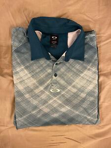 oakley golf shirt xxl
