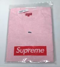 Supreme Pocket Tee Shirt Heather Pink Size L Large Small Box Logo Bogo