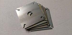 120 x 120 x 6 mm 5Stk Bodenplatte, Pfostenträger, Ankerplatte, Fußplatte, Stahl