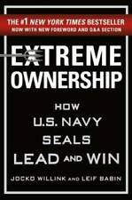 Extreme Ownership: How U.S. Navy SEALs Lead and Win (New Edition) - VERY GOOD