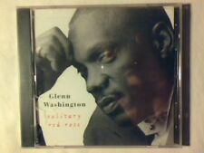 GLENN WASHINGTON Solitary red rose cd USA RARISSIMO SIGILLATO VERY RARE SEALED!!