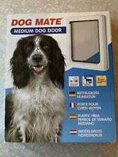 Pet Door Cat Dog Flap Mate Medium Passage Locking Panel Wall Installation Beagle