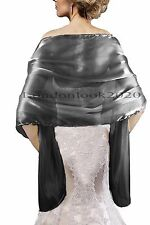 Ladies Women Fashion Lovely Evening Dress Silky Shawl Wedding Prom Stole Wrap