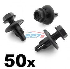 50x 8mm Screw Fit Engine Undertray & Radiator Shield Clips- Honda 91516-SK7-013