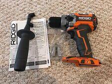New Ridgid 18 Volt 18V Gen5X Brushless Motor Drill Driver Hammerdrill R86116