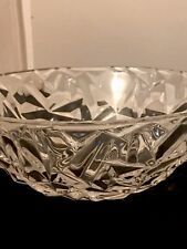 Tiffany & Co. Crystal Glass Serving Bowl
