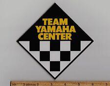 TEAM YAMAHA CENTER Vintage Motocross STICKER YZ125 YZ250 YZ400 YZ465 YZ490 YZ80