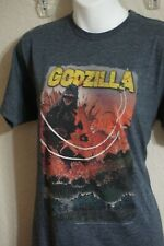 Soft Retro Vintage Feel Godzilla T-Shirt Fits Like a Medium Cool Graphics Blue