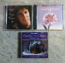WHOLSALE LOT OF (CD's) Joshua Bell ~ Mozart ~ Rachelbel ~ Albinoni ~ Imusici....