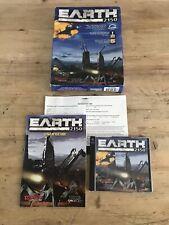 Earth 2150 PC Big Box CD-ROM by Strategic Simulations