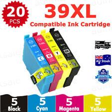 1x Generic Ink Cartridge 39XL 39 XL Cyan for Epson Expression Xp-2105 Xp-4105