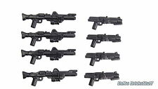 Brickarms star wars ™ armes Blaster dc-15 set, custom pour Lego ® personnages