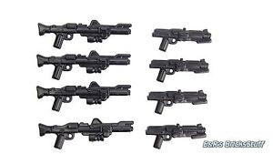BrickArms Star Wars™ Waffen Blaster DC-15 Set, Custom für LEGO® Figuren