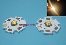 CREE XHP50 BIANCO FREDDO G2 6500K 20W 6V High Power LED emettitore Star montato CRI 90