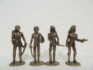 Metallfiguren Piratа Full Set bronze