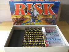 Parker Brothers RISK World Domination Board Game COMPLETE 1998 Classic