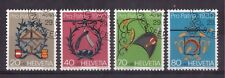 SWITZERLAND 1980, SET OF 4 VERY FINE USED # B475/78 !!