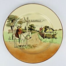 Antique Royal Doulton Sir Roger de Coverley To London Dinner or Collector Plate