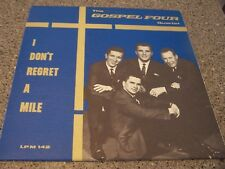 "The Gospel Four Quartet ""I Don't Regret a Mile"" LP RODNEY HANNIS EAST ALTON, IL"