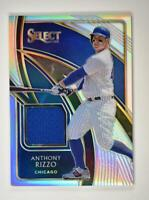 2020 Select Swatches Holo #SS-RZ Anthony Rizzo /149 - Chicago Cubs
