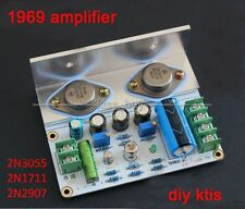 2016 1969 amplifier class A amplifier HIFI Board high quality MOT 2N3055 diy kit