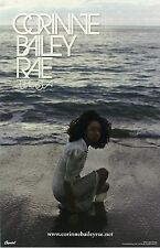 CORRINE BAILEY RAE poster - THE SEA - promo poster - crouching - 11 x 17 inches