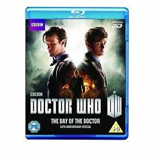 Doctor Who: The Day of the Doctor - 50th Anniversary Special [Blu-ray 3D], DVD |