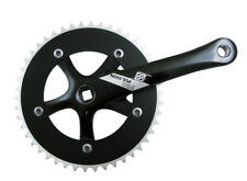 Origin8 Crankset P/P Single Speed 165X46 Sq Black