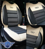 VAUXHALL ASTRA H, J, K - CORSA D, E, SEAT COVER MAT ARTIFICIAL LEATHER & FABRIC