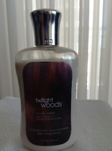 Bath & Body Works Twilight Woods Body Lotion 8 fl Oz Bottle Signature Collection