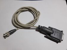 Rare SuperMac 000 7139B Video Cable DB15 to BNC Monochrome Monitor Cable 5' Long