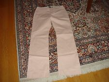Women's Gap Trousers Soft Pink Cotton Spandex Stretch 2R Made in Thailand Pants