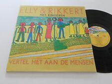 ELLY & RIKKERT Dutch NM Vertel Het Aan De Mensen Tell it to the people EMI