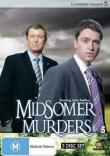Midsomer Murders Complete Season 5 3dvds PAL Region 0