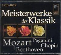 Meisterwerke der Klassik (Box) Mozart, Paganini, Chopin, Beethoven [3 CD]