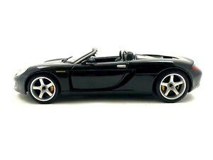 Maisto PORSCHE CARRERA GT Black 1/18 Scale Diecast Car #819
