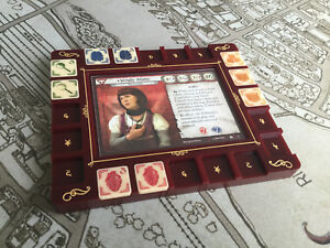 Arkham horror LCG Investigator Base Board (without tokens)