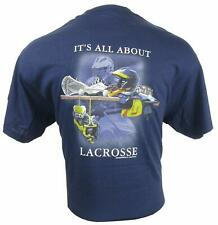 It's All About Lacrosse White Style T-Shirt - Adult Size