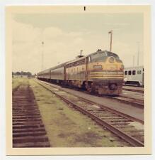 Diesel Locomotive Train Ontario Northland Railway Oakville 1968 Photo Railroad