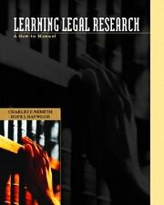 Learning Legal Research: A How-to Manual (Pearson Prentice Hall Legal)