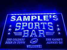 Name Personalized Custom Sports Bar Beer Pub LED Neon Light Sign